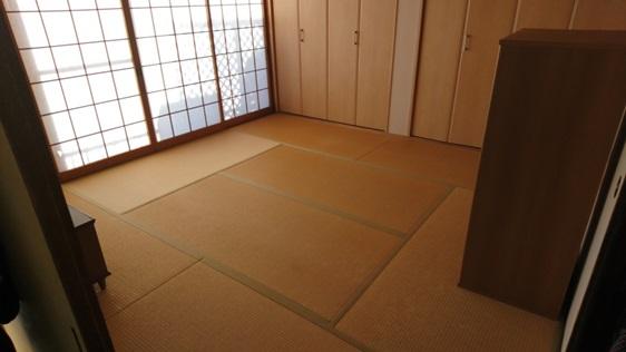 和室の畳:ビフォー