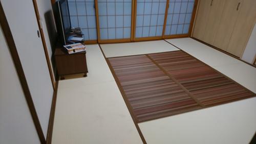和室の畳:アフター