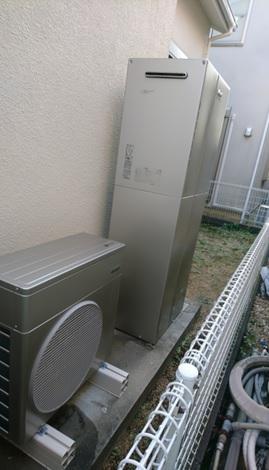 リンナイのハイブリッド給湯・暖房システムのECO ONE2