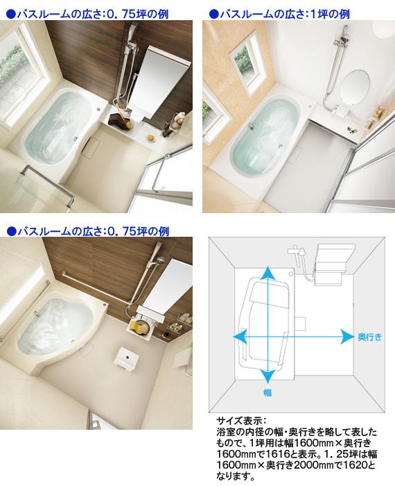 浴室のスペース