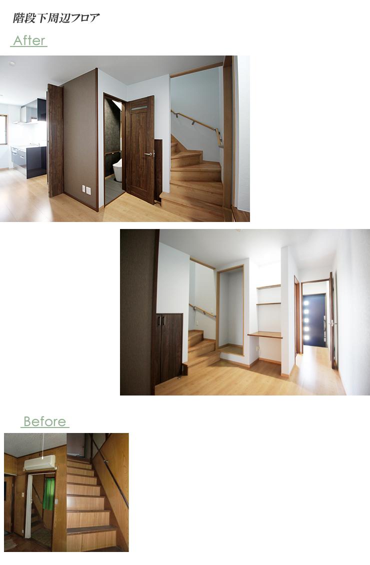 階段下フロア