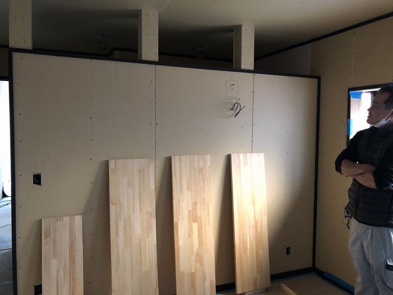 室内側壁仕切り