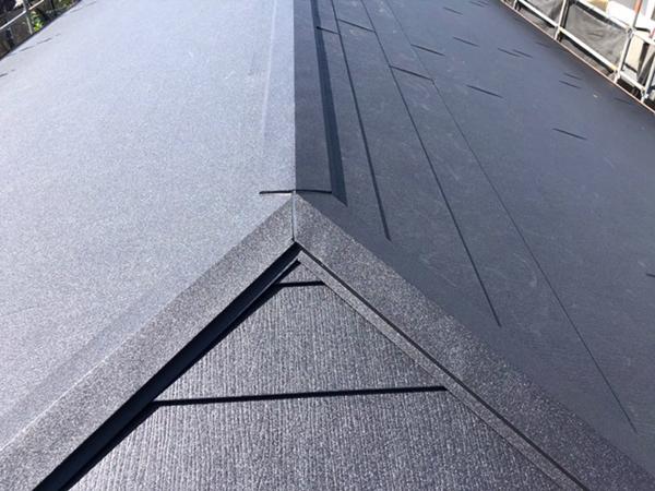 施工後:大屋根1
