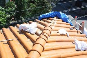 施工前:大屋根2