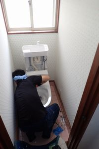 2Fトイレ工事 施工中③