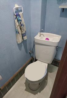 施工前:トイレ内部
