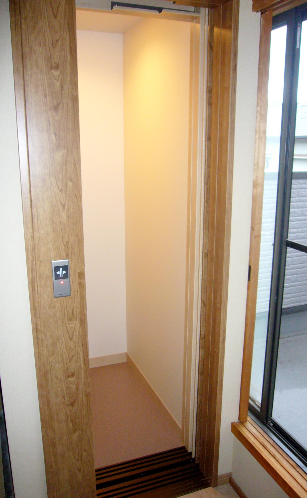 2階ホームエレベーター設置後
