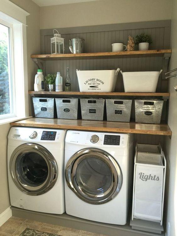 洗濯機上部棚