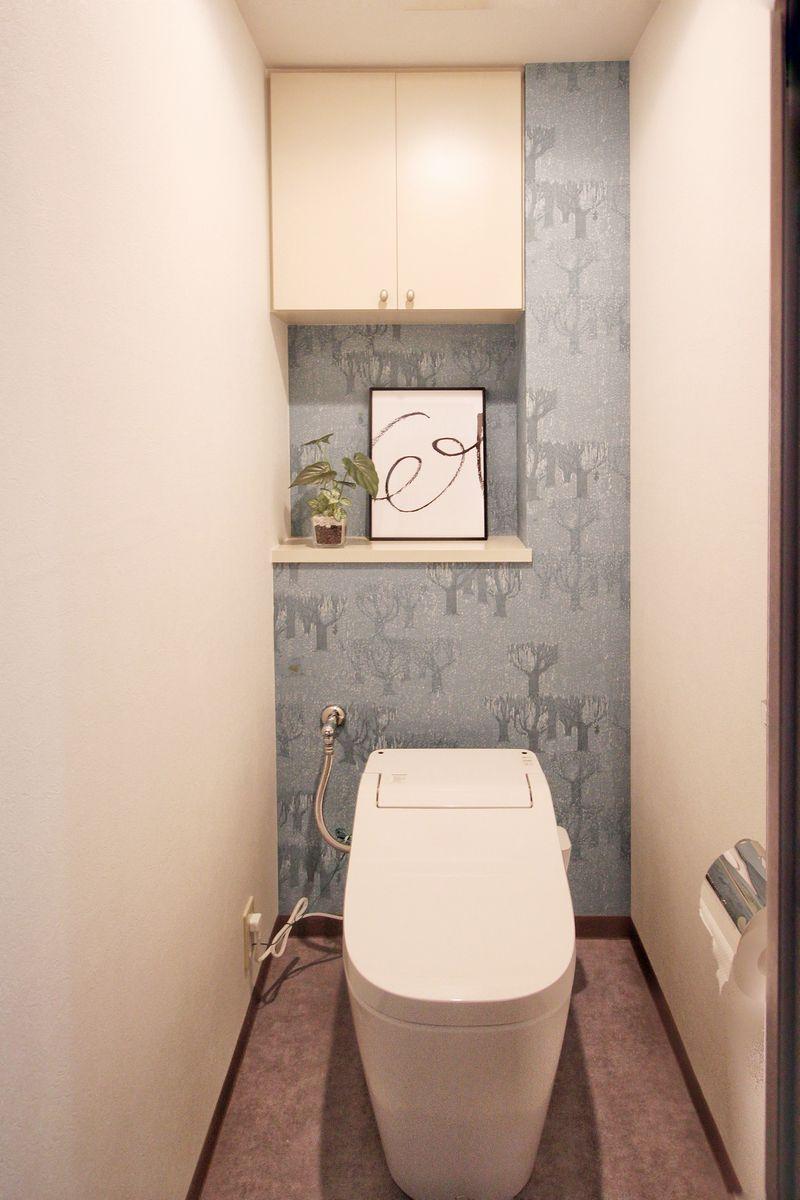 施工後トイレ パナソニック アラウーノS141