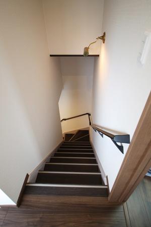 階段:アフター