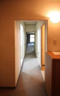 廊下:施工前