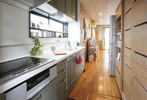 施工後:キッチン1