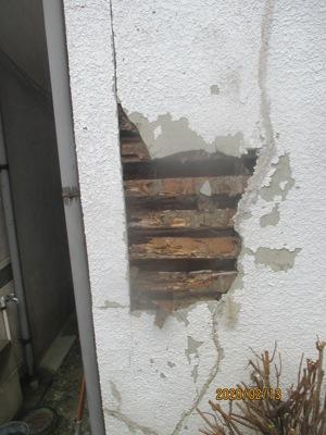 建物に悪い影響を与える外壁クラック