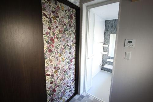 施工後:浴室・洗面・トイレ入口