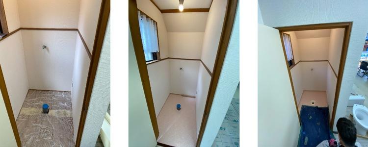 和式から洋式トイレ4