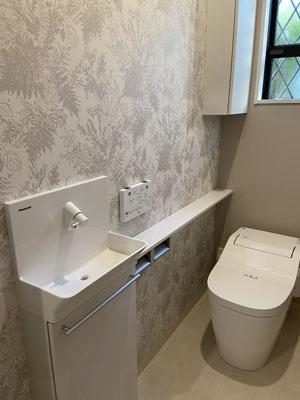 施工後:1Fトイレ